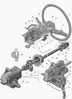 Рульове управління (механізми управління) Волга Газель Соболь