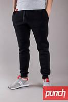 Спортивные штаны зимние мужские, женские PUNCH Jog, Black
