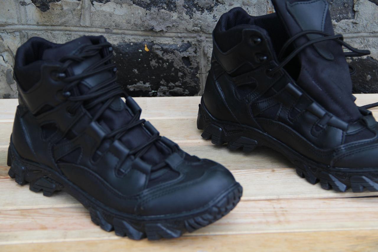 Тактические ботинки из натуральной кожи скорпион