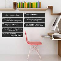 Наклейка-планер доска для мела Календарь на неделю (самоклеющаяся пленка для рисования мелом)