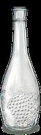 Пляшка винна 1,0 л Грона прозора