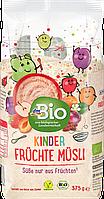 Органические фруктовые мюсли для детей dm Bio Müsli Früchte für Kinder, 375 гр