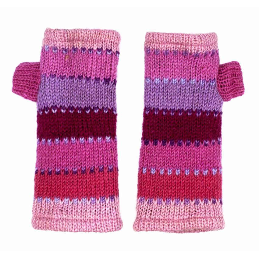 Митенки перчатки из шерсти