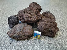 Камни для аквариума Лава  вулканическая коричневая 100-300мм
