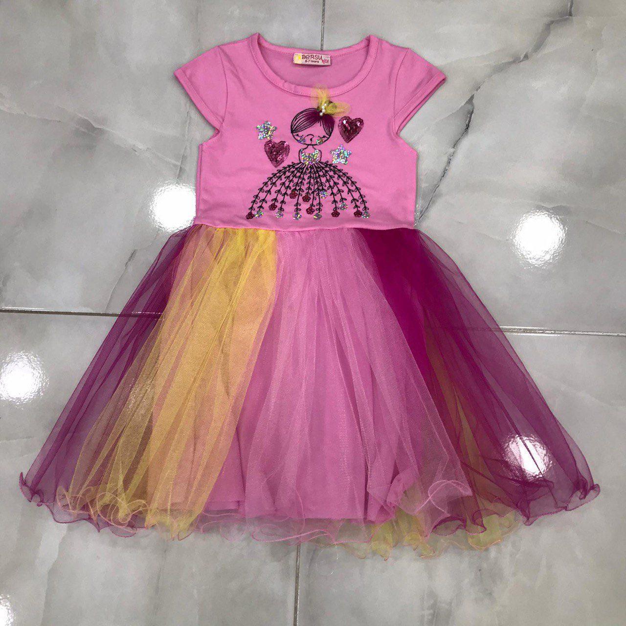 Дитяче плаття 2-6 років на дівчаток оптом Туреччина