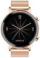 Смарт-годинник HUAWEI Watch GT 2 42mm Elegant Edition Gold (55024610)