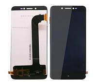 Дисплей для Prestigio MultiPhone Grace Z5 5530 Duo з сенсорним склом (Чорний) Оригінал Китай