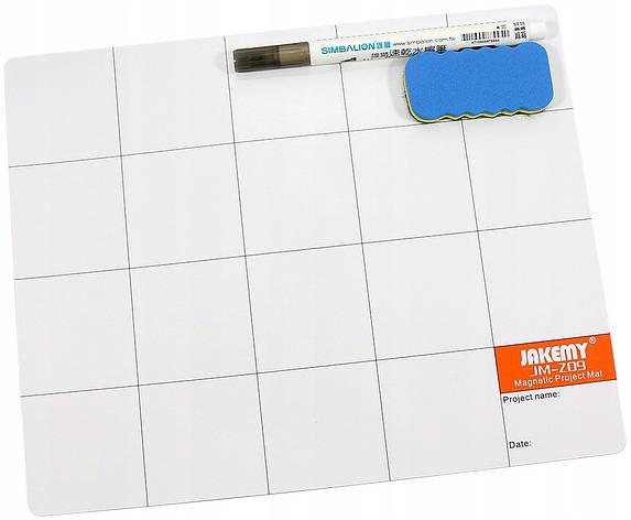 Магнитный коврик для запчастей Jakemy JM-Z09, фото 2