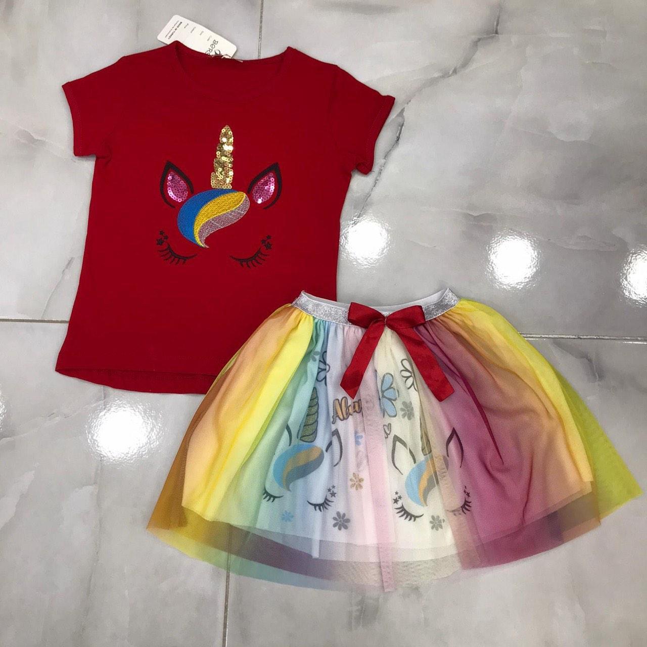 Дитячий костюм 3-7 років для дівчаток оптом Туреччина