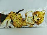 Подушка обнимашка Дакимакура 150 х 50 Кемоно для обнимания аниме со съёмной наволочкой односторонняя, фото 3