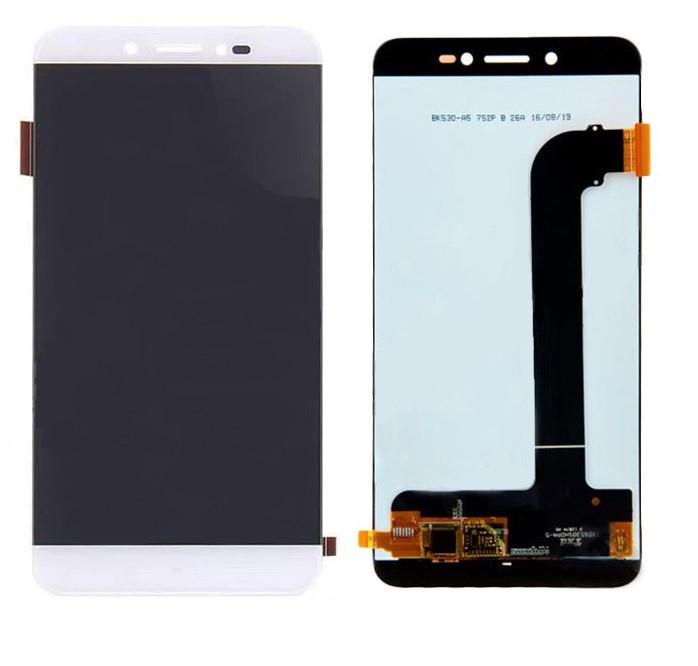 Дисплей для Prestigio MultiPhone 5530 Grace Z5 | 3533 Grace Z3 з сенсорним склом (Білий) Оригінал Китай