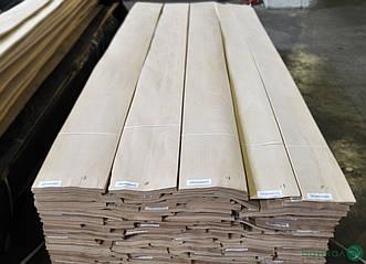 Шпон Бука - 0,6 мм довжина від 2,10 - 3,80 м / ширина від 10 см (I гатунок)