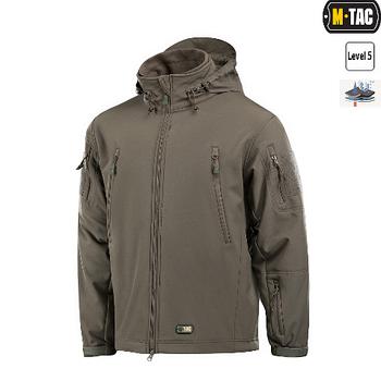 M-Tac куртка Soft Shell с подстежкой Olive
