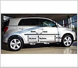 Молдинги на двери для Toyota Urban Cruiser 2006-2016, фото 3