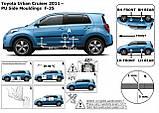 Молдинги на двери для Toyota Urban Cruiser 2006-2016, фото 5