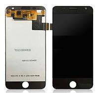 Дисплей для Prestigio MultiPhone 7501 Grace R7 Duo з сенсорним склом (Чорний) Оригінал Китай