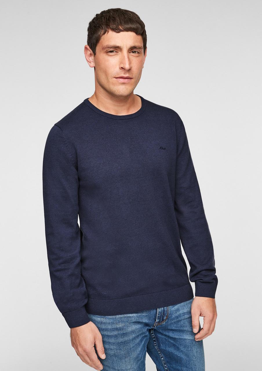 Джемпер s.Oliver 2055957.58W0 XL Темно-синий