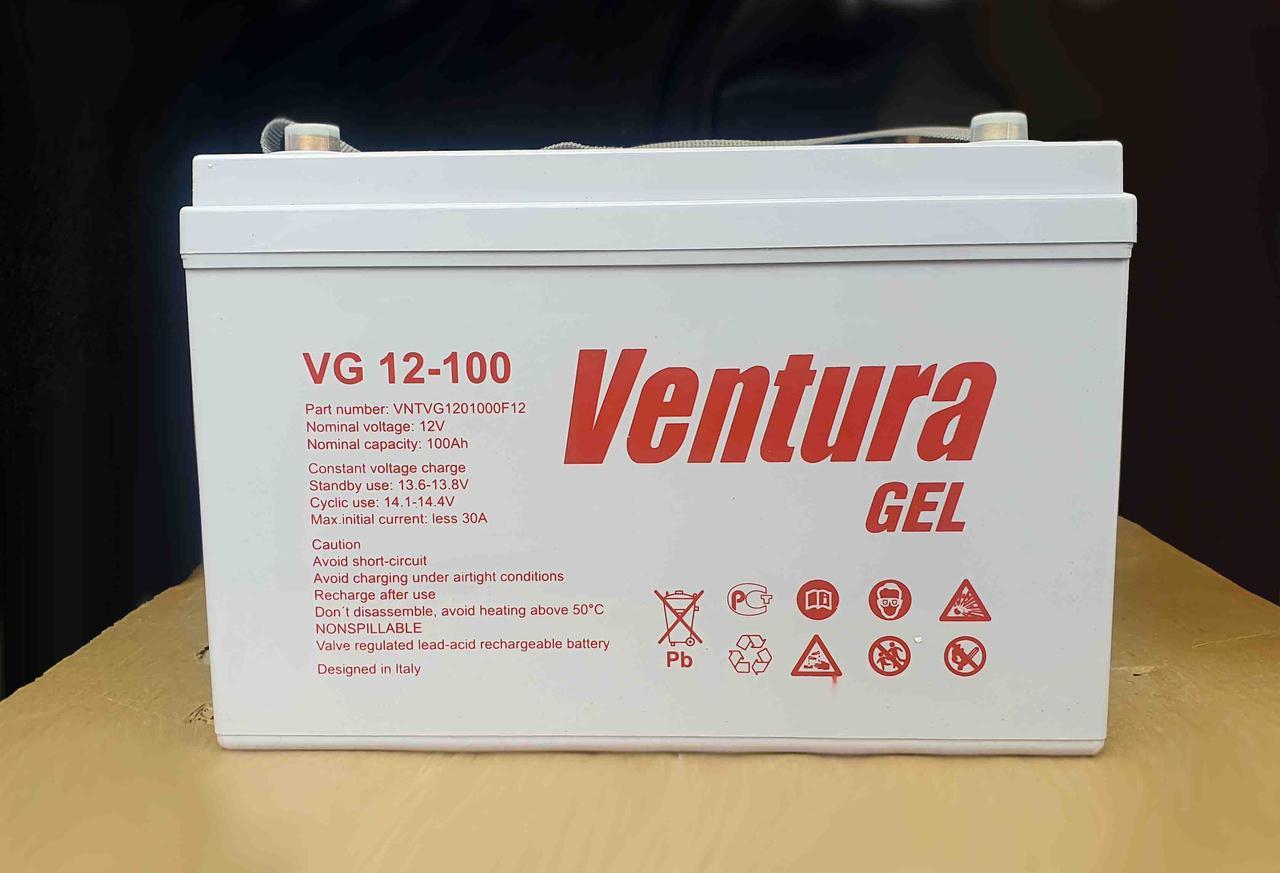 Гелевий акумулятор Ventura VG 12-100Ah 12V
