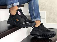 Мужские кроссовки Baas (черные) Демисезонные Летние кроссовки Бас