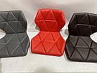Барний стілець Торіно коричнева екокожа TORINO BAR CH - BASE в екошкірі, фото 2
