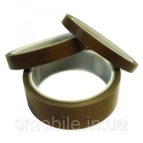 Обладнання Тефлонова стрічка PTFE на клейкій основі, в рулоні 10 м * 15 мм