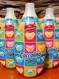 "Coccolino Intense Coconut - Парфюмированная ополіскувач для білизни ""Кокос"", 960 мл"