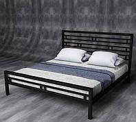 Кровать двухспальная в стиле Лофт, ЛЛ3