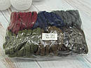 Резинки для волос Ø5 см микрофибра 100 шт/уп., фото 2