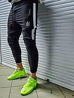 Спортивные штаны мужские BWS с лампасами весенние осенние летние   Брюки мужские с лампасами ЛЮКС качества