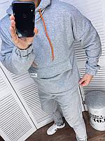 Мужской спортивный костюм 505 (46-48; 50-52) (цвета: черный, серый) СП, фото 1