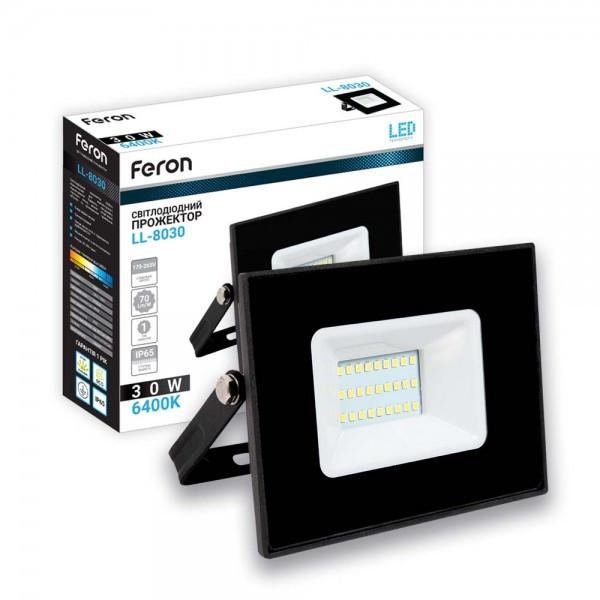 Светодиодный прожектор Feron LL-8030 30W IP65
