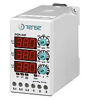 Электронное реле контроля напряжения 3-х фазные микропроцессорное контроль фаз