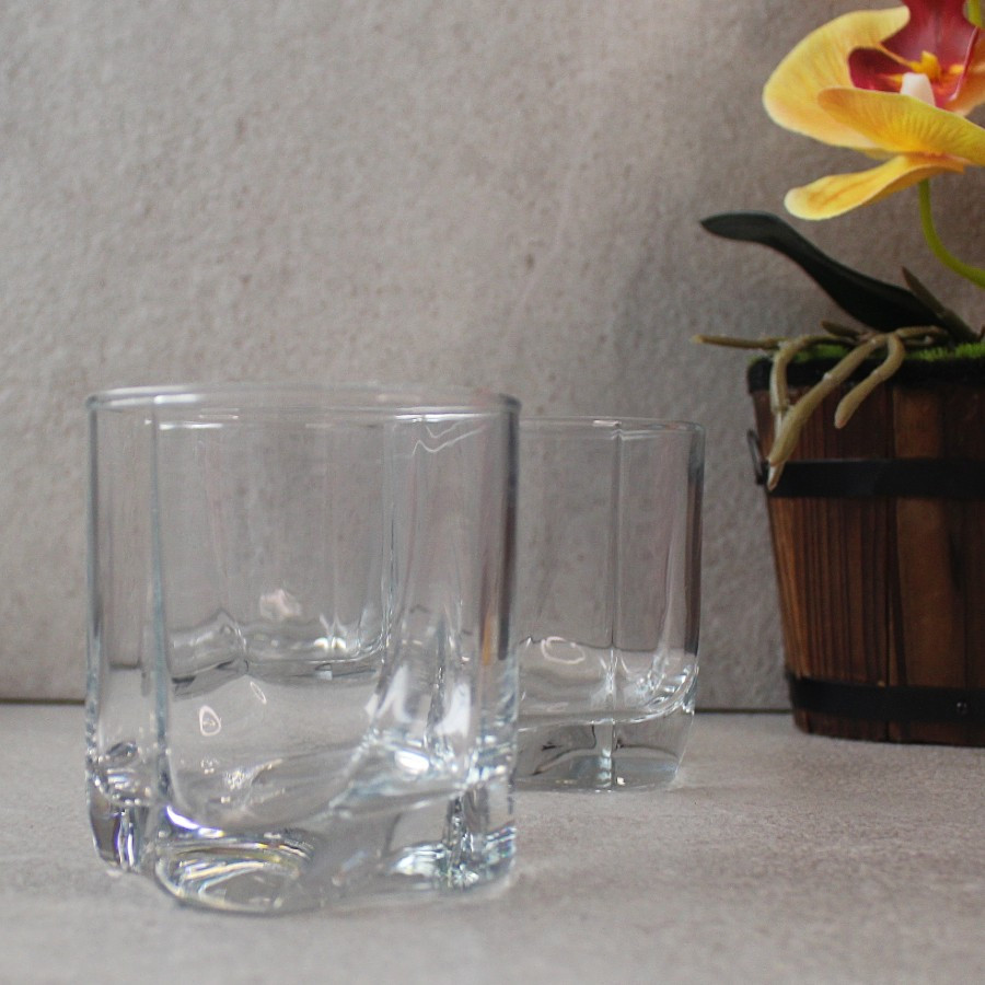 Набор стаканов для виски Pasabahce Луна 250мл 6шт (42338)