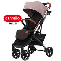 Детская прогулочная коляска CARRELLO Astra CRL-5505 Apricot Pink Розовый | Карело Астра