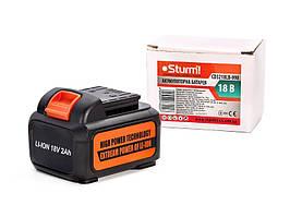 Акумулятор для CD3218LB Li-Ion 18В, 2.0 Аг Sturm
