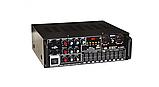Усилитель звука для неактивных колонок вместе с эквалайзером  c караоке и Bluetooth UKC AMP AV-326BT 2*120W, фото 6