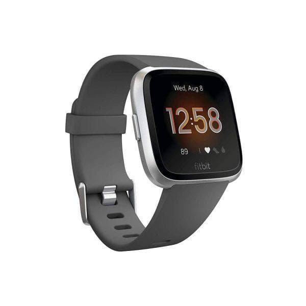 Розумні годинник Smart Watch Fitbit Versa Lite Edition Gray 5 АТМ крокомір, лічильник калорій, пульсометр