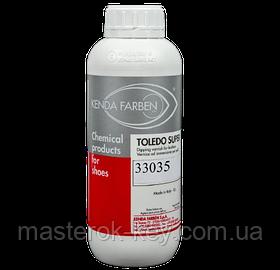 Фарба спиртова для шкіри TOLEDO SUPER 1л колір Шоколад/Коричневий 33035