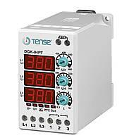 Реле контроля напряжения 3-х фазные электронное с контролем фаз TENSE