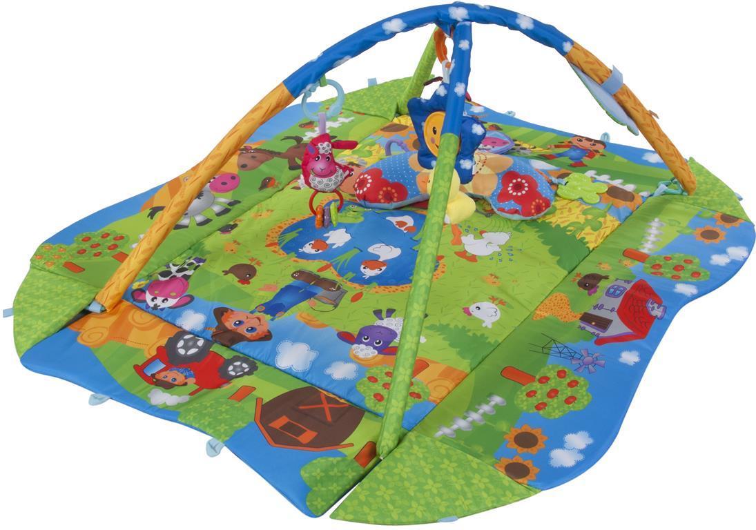Розвиваючий килимок Smoby блакитний 110213N