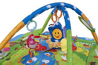 Розвиваючий килимок Smoby блакитний 110213N, фото 3