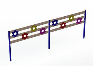 Секція огорожі для дитячих майданчиків BruStyle DIO904.1