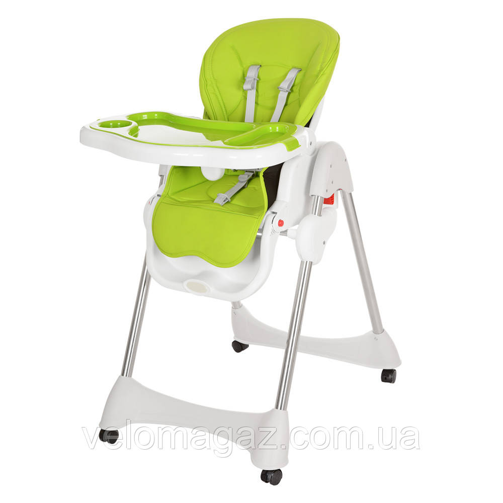 Дитячий стільчик-трансформер для годування M 3216-2-5, салатовий