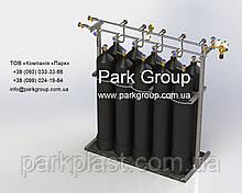 Рампа азотная контейнерная