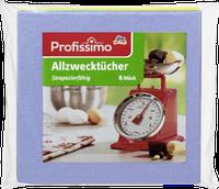 Тряпки для уборки универсальные Profissimo Allzwecktucher, 6 шт