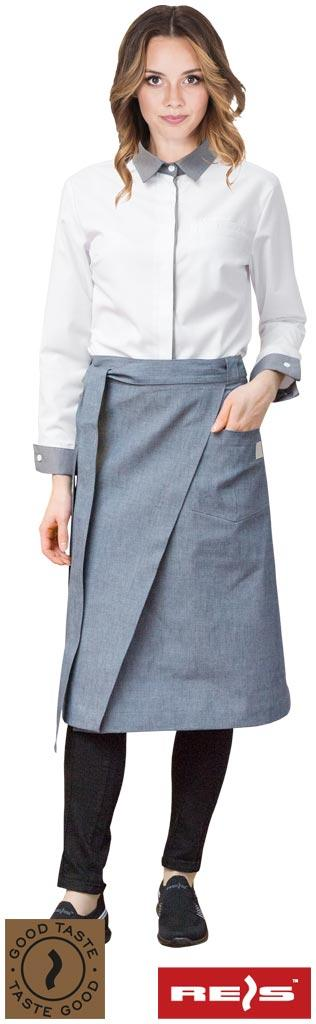 Фартух захисний з джинсу TICELLO-ZAP S 80X66