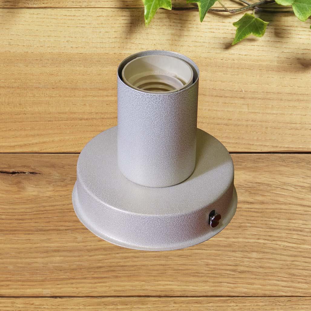Світильник бра настінно-стельовий на 1-лампу BASE E27 білий