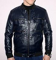 """Куртка чоловіча кожзам демісезонна , розміри 46-56 """"LILU"""" недорого від прямого постачальника"""