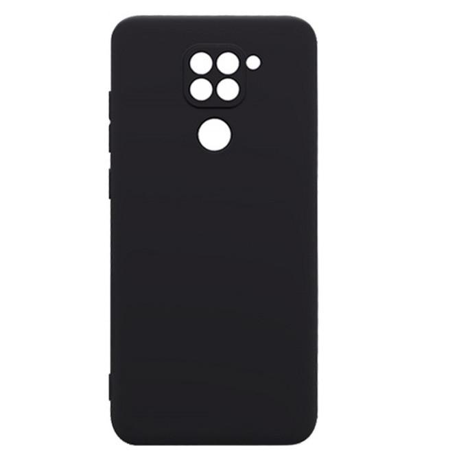 Чехол Fiji Line для Xiaomi Redmi 10X 4G силикон бампер черный