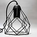 Подвесной светильник RUBY E27 чёрный, фото 2